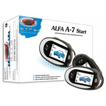 Автосигнализация Alfa A-7