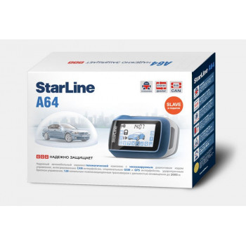 Автосигнализация StarLine A64 CAN
